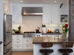 tile kitchen backsplash glass ideas transitional kitchen with dark wood cabinets and granite backsplash