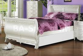 bedroom white distressed sleigh bed vinyl alarm clocks floor lamps white distressed sleigh bed regarding bedroom medium distressed white bedroom furniture vinyl