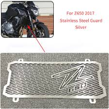 Silver <b>Motorcycle Accessories Radiator Guard</b> Grille Grill Protector ...