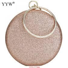 <b>Clutch Rose Gold</b> Gillter Handbag Wedding Evening Women <b>Clutch</b> ...