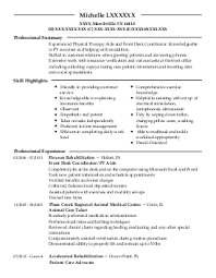 find resume examples in merrillville  in   livecareermichelle l    occupational and physical therapy resume   merrillville  indiana