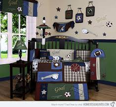 classic sports pink nursery baby boy rooms