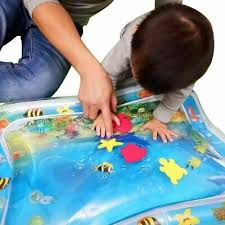 Baby Inflatable Patted Pad <b>Creative Dual Use</b> Toy Water Cushion ...