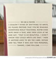 When you don't know what to write in a card... This is for you ...