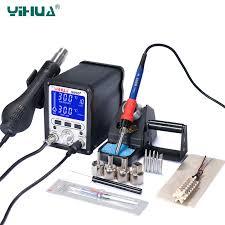 <b>YIHUA 995D+ Soldering Station</b> 60W Electric Soldering Iron 650W ...