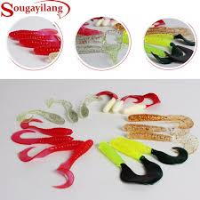 Sougayilang Promotion <b>3Pcs</b>/<b>Lot</b> 5kinds of Color <b>6.5cm</b> Big Fishing ...