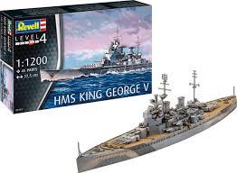 "<b>Сборная модель</b> Revell ""Линкор HMS King George V"", 05161R ..."