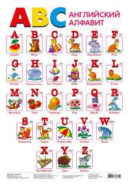 Купить <b>Обучающий плакат</b> английский алфавит в интернет ...