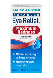 Bausch + Lomb <b>Advanced</b> Eye Relief Maximum <b>Redness</b> - <b>Redness</b> ...