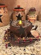 star box berries lights country primitive decor