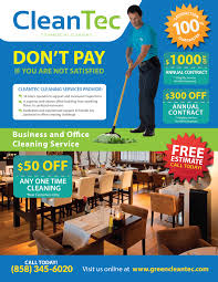 promotions clean tec commercial cleaning flyer cleantec fin2