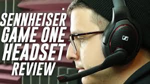 <b>Sennheiser GAME ONE</b> Gaming Headset Review - YouTube