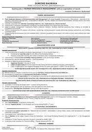 Hr Resume Format Hr Sample Resume Hr Cv Samples Naukri Com Resume Profile Examples For Customer
