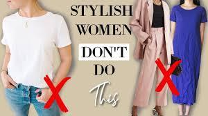 5 Things <b>STYLISH women</b> *NEVER* Do! - YouTube