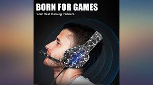 YJY <b>J1 Gaming Headset</b> for PS4,PC, Xbox One Controller,Noise ...