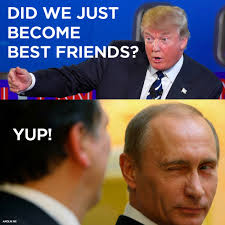 Image result for trump putin funny - Internet Is Going Gaga Over New Trump Putin Bonding -here Are  Some Funny Photos