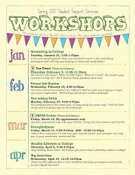 calendar arkansas tech university spring 2017 sss workshops