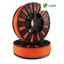 Купить нить для 3D принтера <b>ABS пластик</b> 1,75 SEM <b>оранжевый</b>