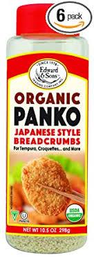 Edward & Sons Organic Panko, Japanese Style ... - Amazon.com