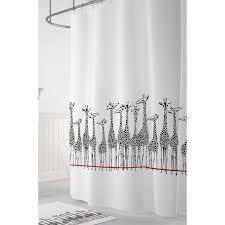 <b>Tropikhome Шторы для ванн</b> полиэстер Digital Printed Giraffe ...