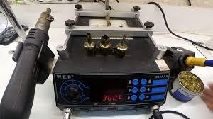 Обзор <b>паяльной станции</b> WEP853AAA. Год использования ...