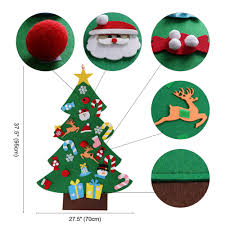 <b>OurWarm DIY</b> Felt <b>Christmas Tree</b> New Year Gifts Kids Toys Artificial ...