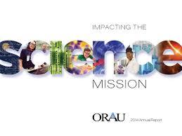 orau annual report