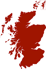 social investment scotland dark red map of scotland
