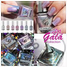 Gala-collection. <b>Лак для ногтей</b> - <b>Golden</b> Rose Holographic