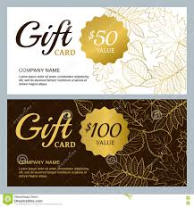 vector gift voucher template golden outline fall leaves gold vector gift voucher template golden outline fall leaves gold black and white autumn