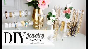 DIY EASY <b>Necklace</b> & <b>Bracelet Holder</b> | ROOM DECOR | ANN LE ...