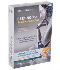 <b>Антивирус ESET NOD32 SMALL</b> Business Pack на 10 ПК ...