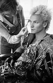 Sting Makeup, London, 1983 - Andy Summers photo | Sting в 2019 г ...