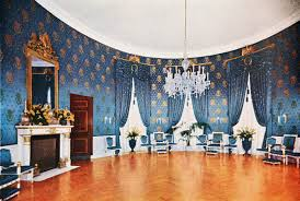 the blue room blue room white