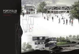 architecture portfolio fouad addou layout portfolio layout and a selection of academic professional projects title pages and use of color
