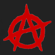 <b>Anarchy</b> red <b>logo</b> - black T <b>Shirt</b> www.damncoolteez.com | Cool ...