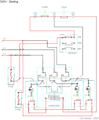 wiring diagram 240v contactor wiring image wiring 10ee starting circuit allen bradley contactor on wiring diagram 240v contactor