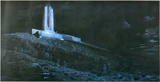 this painting is ghosts of vimy ridge by william war poetry