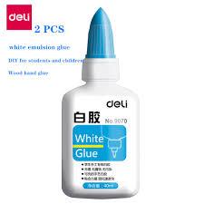 2PCS <b>40ml white glue</b> white emulsion glue quick drying emulsion ...