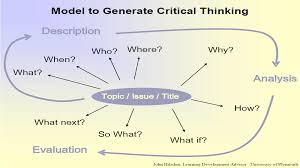 critical thinking essay critical thinking