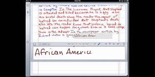 Critical lens example essay