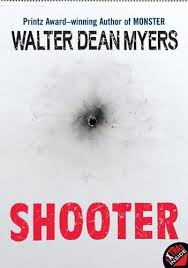 shooter by walter dean myers   teen book review   teen inkshooter by walter dean myers