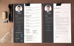 the best cv amp resume templates  examples  design shack modern resume amp cover letter template