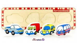 <b>Пазлы</b> Автомобили <b>Alatoys</b> купить недорого