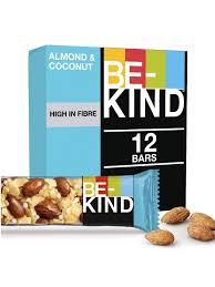 <b>Батончик Be-Kind</b> Миндально-кокосовый, с медом, 12 шт по 40 г ...