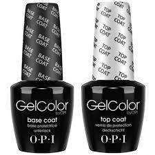<b>OPI Gelcolor Base</b> + Top Coat .5oz/15mL 2 bottles | Walmart Canada