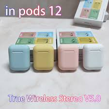 I7s <b>inpods</b> 12 TWS Wireless <b>Earphone</b> 5.0 <b>Bluetooth headset</b> 3D ...