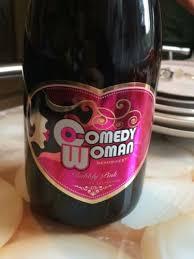 <b>Comedy Woman</b> Bubbly Pink Semi Sweet | Wine Info