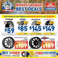 All Wheel Brands | Top Brands & Best Prices | Bob Jane T Marts