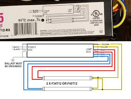 process wiring fluorescent light ballasts on the cheap ballast wiring diagram